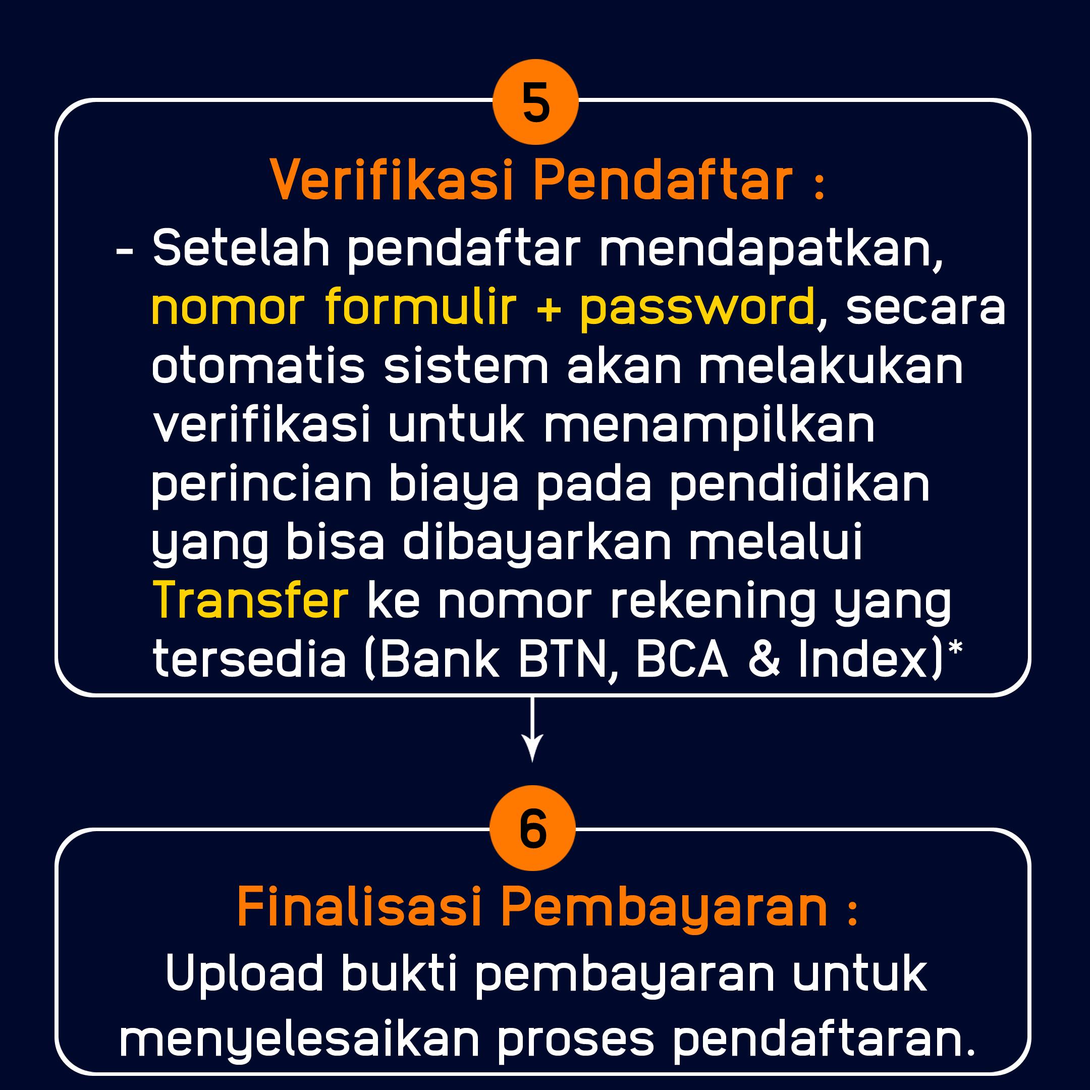Langkah 5 - 6